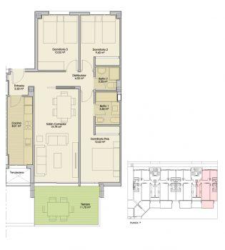 Plano-Nucleo4-Planta1-A-Apartamentos-Terrazas-PuertoReal