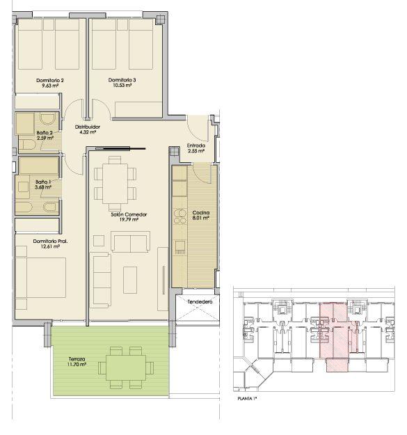 Plano-Nucleo4-Planta1-B-Apartamentos-Terrazas-PuertoReal
