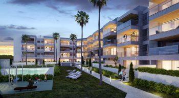 Apartamentos Terrazas en Puerto Real, Cadiz, Playa La Cachucha - nocturna
